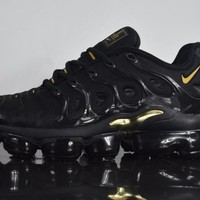 2018 nike air max plus tn vm black gold vapormax vapor max men fashion running sneakers sport shoes
