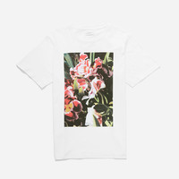 Pink Orchid T-Shirt, White | Saturdays NYC