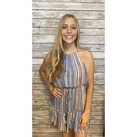 Gator Girl Dress- Blue