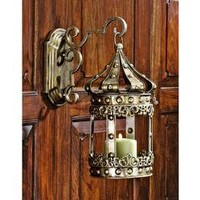 Medieval Realm Hanging Pedant Wall Sconce - MH2415 - Design Toscano