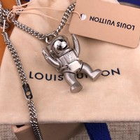Louis Vuitton Lv Astronaut Necklace Mp2222 - Best Online Sale