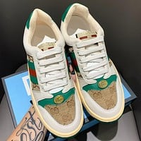 GUCCI Fashion New Stripe More Letter Women Men Sports Leisure Running Shoes