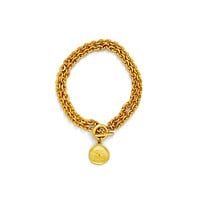 Double Chain Toggle Necklace