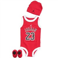 Nike Jordan Baby Set in Black and Red | Free Shipping on All Orders!