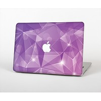 """The Vector Shiny Pink Crystal Pattern Skin Set for the Apple MacBook Pro 13"""" with Retina Display"""
