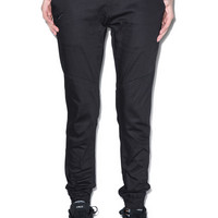 Publish Lexie Signature Over Dyed Twill Jogger Pants Black