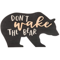 Don't Wake The Bear Wood Wall Decor | Hobby Lobby | 1758465