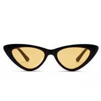 Tri Me Black & Yellow Sunglasses