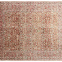 """9'3""""x11'10"""" Amber Rug, Gold/Light Brown, Area Rugs"""