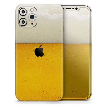 Cold Beer - Skin-Kit compatible with the Apple iPhone 12, 12 Pro Max, 12 Mini, 11 Pro or 11 Pro Max (All iPhones Available)