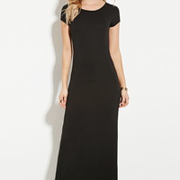 Stretch-Knit Maxi Dress