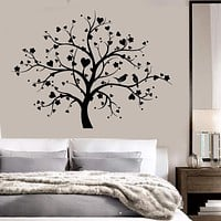 Vinyl Wall Decal Tree Love Romantic Wood Bedroom Decor Stickers Unique Gift (ig2934)