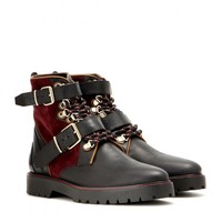 Utterback leather boots