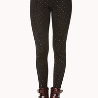 Standout Metallic Spotted Leggings
