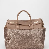 Urban Outfitters - Deux Lux Sequin Weekender Bag