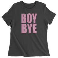 Boy Bye Pink Lemonade  Womens T-shirt