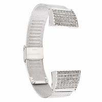 Fitbit Charge 2 Band Fitbit Accessories Replacement Metal Watch Band Strap Stainless Steel Bracelet for Fitbit Charge2