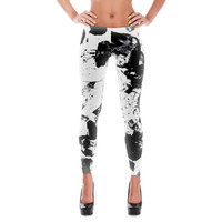 Ink Blotch Leggings