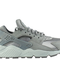 Nike Women's Air Huarache Run Premium Suede Medium Grey