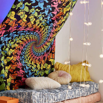 Grateful Dead Dancing Bears Tapestry | Urban Outfitters