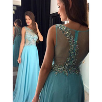 Fashion Prom Dress Evening Party Dreses pst1038