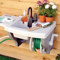 Outdoor Sink Station   Solutions