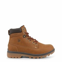 U.S. Polo Men Brown Ankle boots