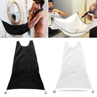 Man Bathroom Beard Care Trimmer Hair Shave Apron Gown Robe Sink Styles Tool [9325723716]