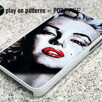 iphone 4 Case - iphone 4s case - plastic or silicone rubber - marilyn monroe