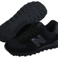 New Balance Classics M574 Black - Zappos.com Free Shipping BOTH Ways