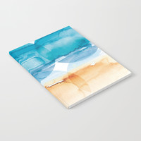 Sand and Surf Notebook by noondaydesign