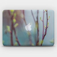 Transparent Skin Sticker Decal for MacBook Air 11' 13' MacBook Pro 13' 15' - Breathing  of Spring