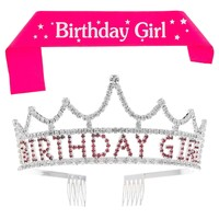 Birthday Girl Tiara and Sash
