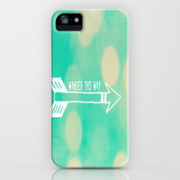 Wander this way iPhone & iPod Case by LJehle