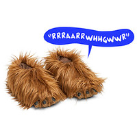 Star Wars Chewbacca Slippers With Sound - Exclusive
