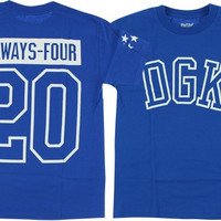 DGK Always 420 Tee Medium Royal