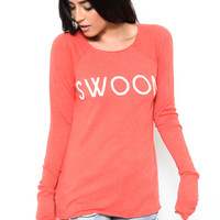 Swoon Raglan Top by WILDFOX - FINAL SALE