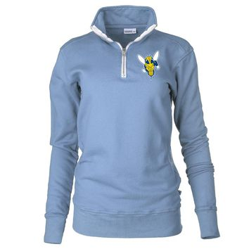 Official NCAA University of Rochester Yellowjackets - PPURO07 Unisex 1/4 Zip Up Fleece Pullover