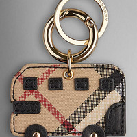 Horseferry Check London Bus Key Charm