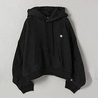 Champion Fashion Embroidery Logo Hooded Sweater Top Sweatshirt Hoodie