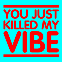 Women's T-Shirt. You Just Killed My Vibe T-Shirt. Teenager College Student T-Shirt Vibe Song
