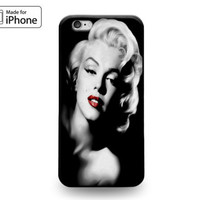 Classic Beauty Marilyn Monroe Rubber Case for iPhone 7 6s 6 Plus 5s 5 5c SE