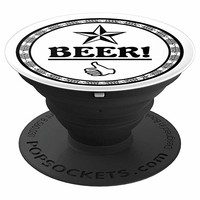 BEER is Thumbs Up - PopSockets Grip and Stand for Phones and Tablets