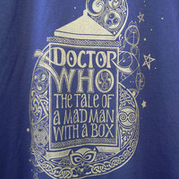 Doctor Who -T-Shirt - Hand Printed
