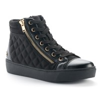 Juicy Couture Women's Quilted High-Top Sneakers