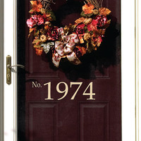 Wall Decals-House Number Vinyl Lettering- Wall Art- Home Vinyl Wall Decals