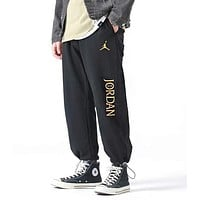 JORDAN Fashion Women Men Casual Print Sport Pants Trousers Sweatpants