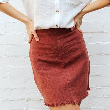 something just like this linen skirt - more colors