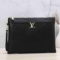 Louis Vuitton LV Women Fashion Leather Tote Handbag Satchel
