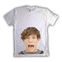 One Direction Louis Tomlinson 012 Tshirt x tee x shirt x top - All Sizes Available